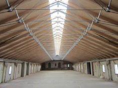 neue Dachkonstruktion mit Oberlicht