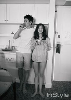 Celebrity couple Yoon Seung Ah and Kim Moo Yeol vacation in Hawaii for 'InStyle' | allkpop.com
