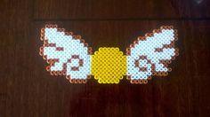 Golden Snitch - Harry Potter hama beads by lisaru38