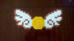 Golden Snitch - Harry Potter hama beads by lisaru38