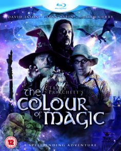 The Color of Magic DVD Cover Adaptation from a Book by Terry Pratchett