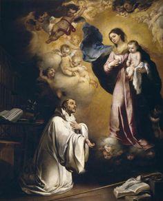 Aparición de la Virgen a San Bernardo (Murillo)