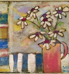 Floral Paintings, Canvas Designs, Bird Art, Handmade Art, Creative Art, Whimsical, Mixed Media, Canvas Art, Collage