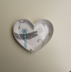 dragonfly! whimsy, heart, dragonfly - fun!