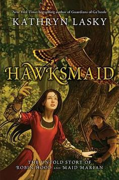 In twelfth-century England, Matty grows up to be a master falconer, able to communicate with the devoted birds who later help her and Fynn, also known as Robin Hood, to foil Prince John's plot to steal the crown.