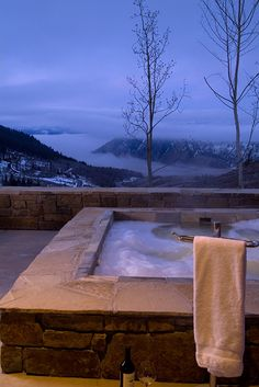 Back Patio with Hot Tub