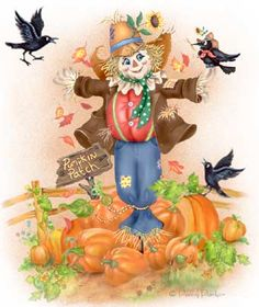 1000 images about 3 fall clipart on pinterest for Animated scarecrow decoration