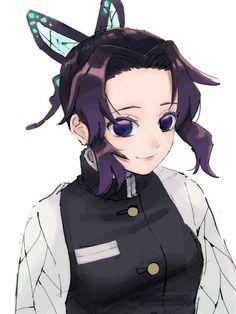 Kimetsu no Yaiba shinobu art Anime Angel, Anime Demon, Demon Slayer, Slayer Anime, Anime Art Girl, Anime Guys, Bts Chibi, Japanese Manga Series, Character Concept
