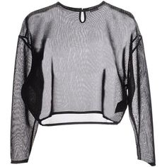 SAINT LAURENT Sweater (440 BAM) ❤ liked on Polyvore featuring tops, sweaters and yves saint laurent
