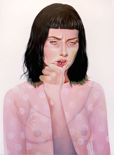 Amsterdam-based artist Martine Johanna is a painter specialized in acrylic portraits on wood or linen. On her canvases, she portrays young men and women with the body illuminated by vibrant lights. She also pays close attention to textures and patterns of clothes.