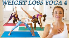 Weight Loss Yoga Day 4 Challenge! Fat Burning 20 Minute Workout Beginner...