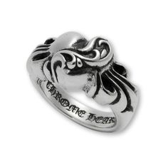 f9881317c8c0 Chrome Hearts Ring Heart (€165) ❤ liked on Polyvore featuring jewelry