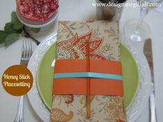 Honey stick place setting - Design Megillah: 09/12/12