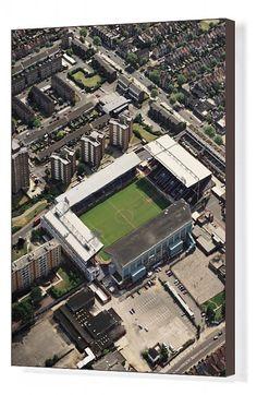 London Football, West Ham United Fc, Aerial View, City Photo, England, Canvas Prints, Australia, Urban, Park