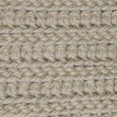 Crochet Stitches -- Classic Menswear Crochet Stitch Instructions