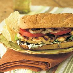 Grilled Chicken Mojito Sandwiches Recipe by Cooking Light | Maypurr