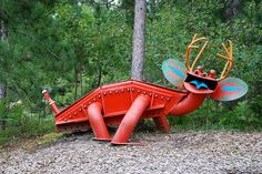 Yard Art From Junk | Recent Photos The Commons Getty Collection Galleries World Map App ...