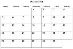 2014 print blank monthly calendar printable blank pdf january 2014 october 2014 calendar printable october 2014 free printable calendar october 2014 calendar october saigontimesfo