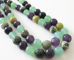 Agate Faceted Round Beads  Round Ball Agate  Mix by BijiBijoux