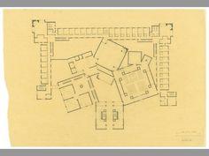 Louis Kahn's Domenican Sisters_ pianta versione finale/mother house