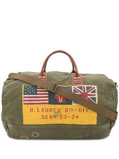 POLO RALPH LAUREN POLO RALPH LAUREN PRINTED HOLDALL - GREEN.   poloralphlauren  bags   ed4a413984d08