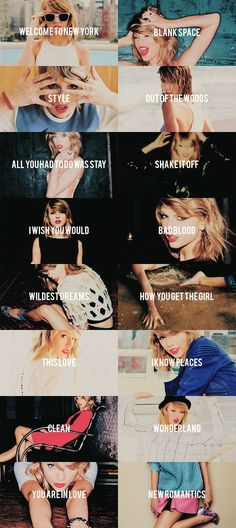 I have this version of the album. >>>>> My favorite pictures are Welcome to New York, Bad Blood & Wonderland. >>>>> My favorite song is Bad Blood.