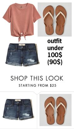 """not worth it"" by bbaassiicc on Polyvore featuring Hollister Co., American Eagle Outfitters and H&M"