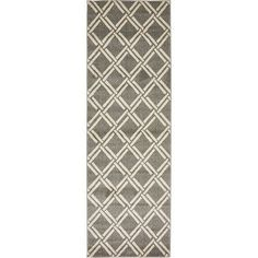 "Bay Isle Home Seagate Gray Area Rug Rug Size: 3'3"" x 5'3"""