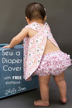 Sew a diaper cover with this free pattern and video tutorial