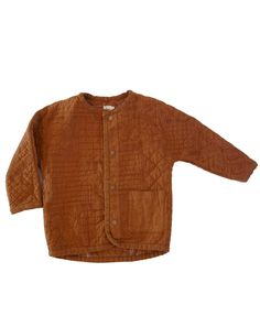 Nico Nico Zuni Quilted Jacket in Brick