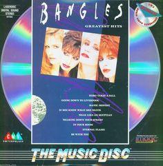 "Bangles ""Greatest Hits"" Music Laserdisc"