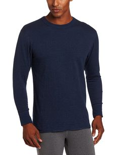 Duofold Men's Mid Weight Crew Neck Thermal Sleepwear -- This is an Amazon Affiliate link. More info could be found at the image url.