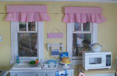 The cutest beach inspired dollhouse I have ever seen! Her attention to detail is amazing!