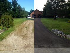 How recycled asphalt driveway can improve the look and value of your property.