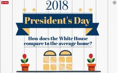 Happy President's Day! How does the White House compare to the average American home!?! Click through to see the full graphic on our blog. https://www.liveinmtrealestate.com/montana-real-estate-blog?utm_content=buffer6975b&utm_medium=social&utm_source=pinterest.com&utm_campaign=buffer #liveinmt #americanhomes #realestate #whitehouse #compareandcontrast #presidentsday #presidentsday2018