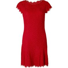 Diane Von Furstenberg Long Dresses ($410) ❤ liked on Polyvore featuring dresses, fuschia jewel, jeweled dress, red jeweled dress, long dresses, fuchsia long dress and fuchsia dress