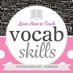 Learn how to teach v