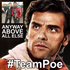 Looks like John Boyega is giving those other guys some competition with his latest tweet. The Force is strong with these two. #TeamPoe - http://fngsm.com/