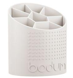 Bodum Bistro Utensil Holder - Off-White Kitchen Utensil Holder, Kitchen Rug, Laundry In Bathroom, Small Kitchen Appliances, Contemporary Furniture, All Modern, Storage Organization, Creme, Off White