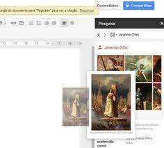 Busca informacion en/para los documentos de Google