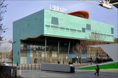 The Peckham Library, designed by William Alsop and Jan Störmer, South London