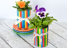 Super Spring Art Projects For Kids Flowers Popsicle Sticks Ideas Spring Projects, Spring Crafts, Projects For Kids, Craft Projects, Spring Art, Craft Ideas, Fun Crafts To Do, Mothers Day Crafts For Kids, Easy Crafts For Kids