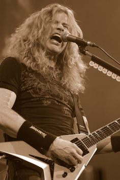 Dave Mustaine by Larf03