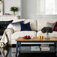 Edward 3 Seater Sofa Dublin Linen