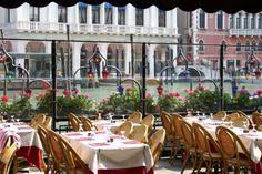 Sommariva Restaurant, Venice - Dinner in 2010 right at the Rialto Bridge