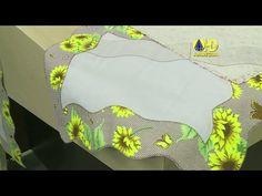 Vida com Arte   Caminho de Mesa Girassol por Deize Costa - 16 de Setembro de 2014 - YouTube