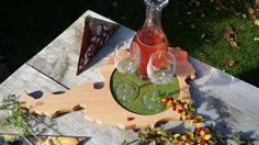Herbst Impressionen... Schnapps, Boards, Autumn, Timber Wood, Gifts
