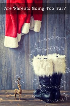 """Are Parents Inadvertently Stealing the Magic of Christmas From Their Children By Taking """"Santa Shenanigans"""" Too Far?  *Interesting article"""