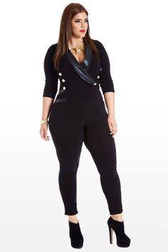 Fashion outfits para chicas con curvas