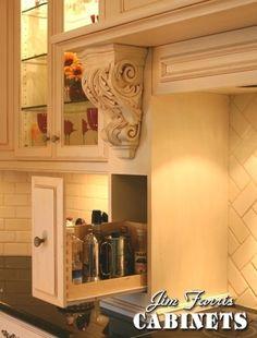 Glazed French Country Kitchen